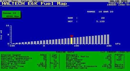 haltech e6x software